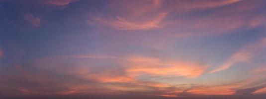Himmel und Wolken