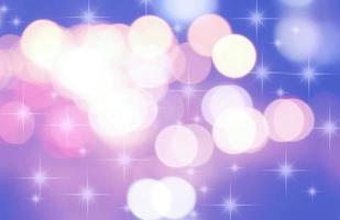 abstraktes Glitzer-Bokeh von Autolichtern zu Aufruhr in der Nacht schön für den Hintergrund