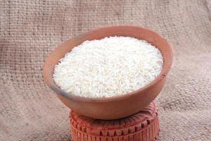 frischer roher Reis