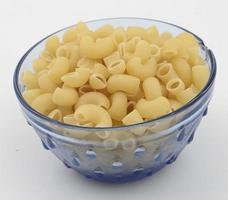 frische und gesunde rohe Nudeln