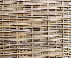 gewebte Korb Textur foto