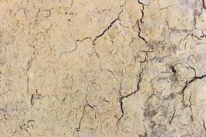 Boden Bodenriss Erosion Textur Hintergrund foto