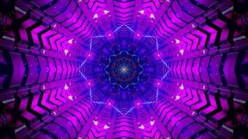 Sternentunnel abstrakte 3d Illustration visuelle Hintergrund Tapete Design Kunstwerk