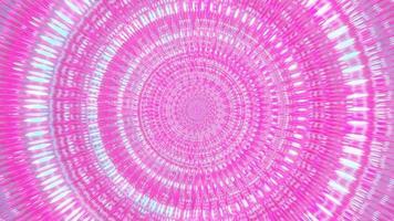visuelle Hintergrundtapetenentwurfsgrafik der blauen und rosa 3D-Illustration der abstrakten Kunst foto