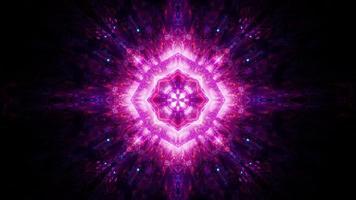 abstrakter glühender heiliger Glanz 3d Illustration visueller Hintergrund Tapetendesignkunstwerk