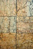 quadratische Marmorstruktur
