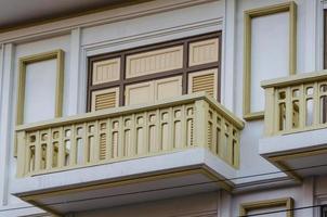 Fensterbalkon in Thailand foto