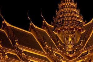 Wat Phra Kaeo am Abend