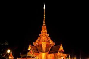 thailändischer buddhistischer Tempel