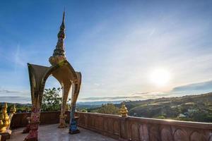 Gebäude bei Wat Phra, dass Pha Son Kaeo