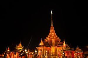buddhistischer tempel in thailand foto