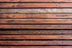 Holzlattenwand für Hintergrund foto