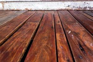 Holzlattenboden für Hintergrund