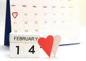 14. Februar Kalender foto