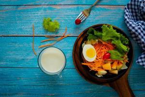 gesunder Gartensalat