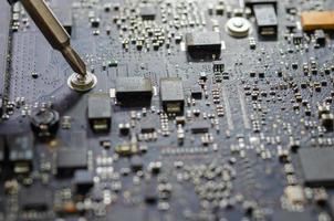 Computerplatine foto