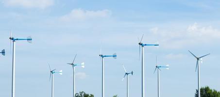 Windkraftanlagen zur Stromerzeugung