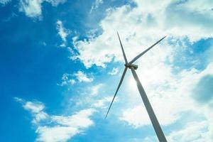 Windkraftanlage zur Stromerzeugung in Thailand