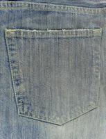 Stein gewaschene Jeans