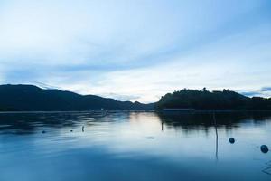 Reservoir in Thailand foto