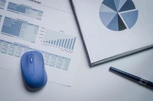 Geschäftsdiagramme und Diagramme