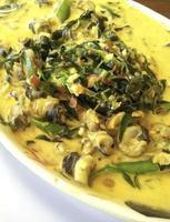 Thai Curry mit Muscheln foto