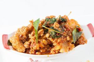 scharfes thailändisches Essen