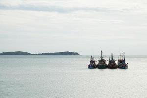 Fischerboote auf dem Meer