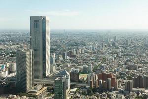 Stadtbild von Tokio Stadt foto