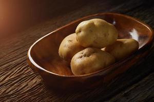 Kartoffelstillleben foto