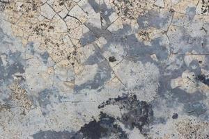 rustikaler blauer Zement