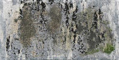 baufällige Gesteinsoberfläche