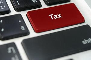 Steuertaste auf einer Tastatur