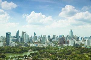 Bangkok Stadt bei Tageslicht