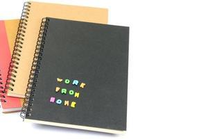 Arbeit von zu Hause aus Notebooks foto