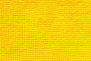 Nahaufnahme des gelben Handtuchs für Textur oder Hintergrund