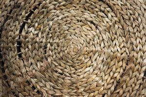 gewebtes Seil für Textur oder Hintergrund geflochten