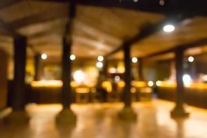 verschwommene Restaurantszene