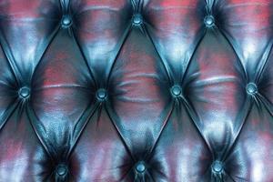 Nahaufnahme des Leders des Sofas für Textur oder Hintergrund