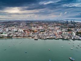 Luftaufnahme von Pattaya Beach, Thailand