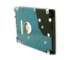 Festplatte isoliert foto