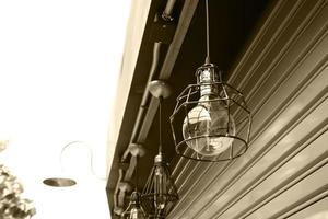 Außenlampen am Gebäude