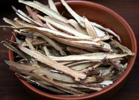 traditionelle Kräutermedizin foto