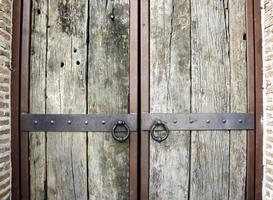 alte rustikale Türen