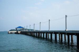 Pier in Thailand