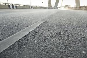 Asphaltstraßenoberfläche foto