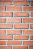 rote Backsteinmauer Nahaufnahme