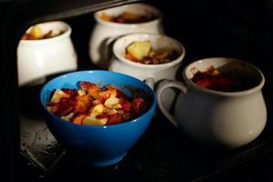 Hammelfleisch und Kartoffeln foto