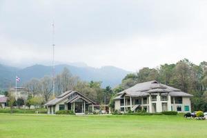 Bau des Forstdienstes in Thailand