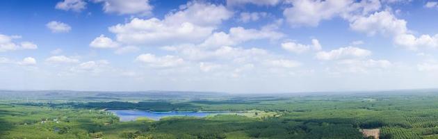 Landschaft in Thailand foto